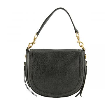 IRIS LEATHER SHOULDER BAG